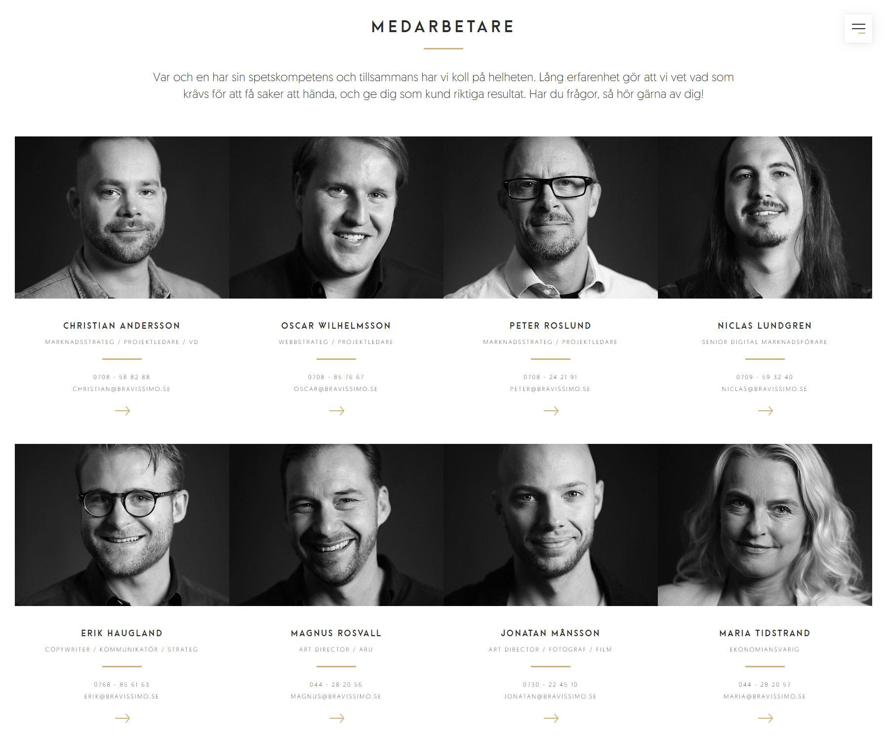 Bravissimo Agency - Website of the Day