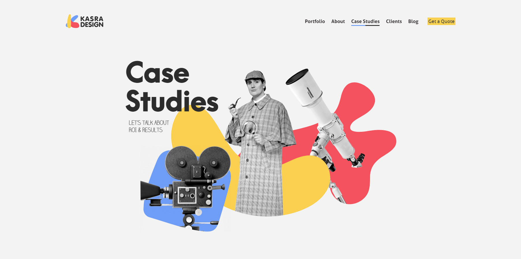 Kasra Design - Website of the Day