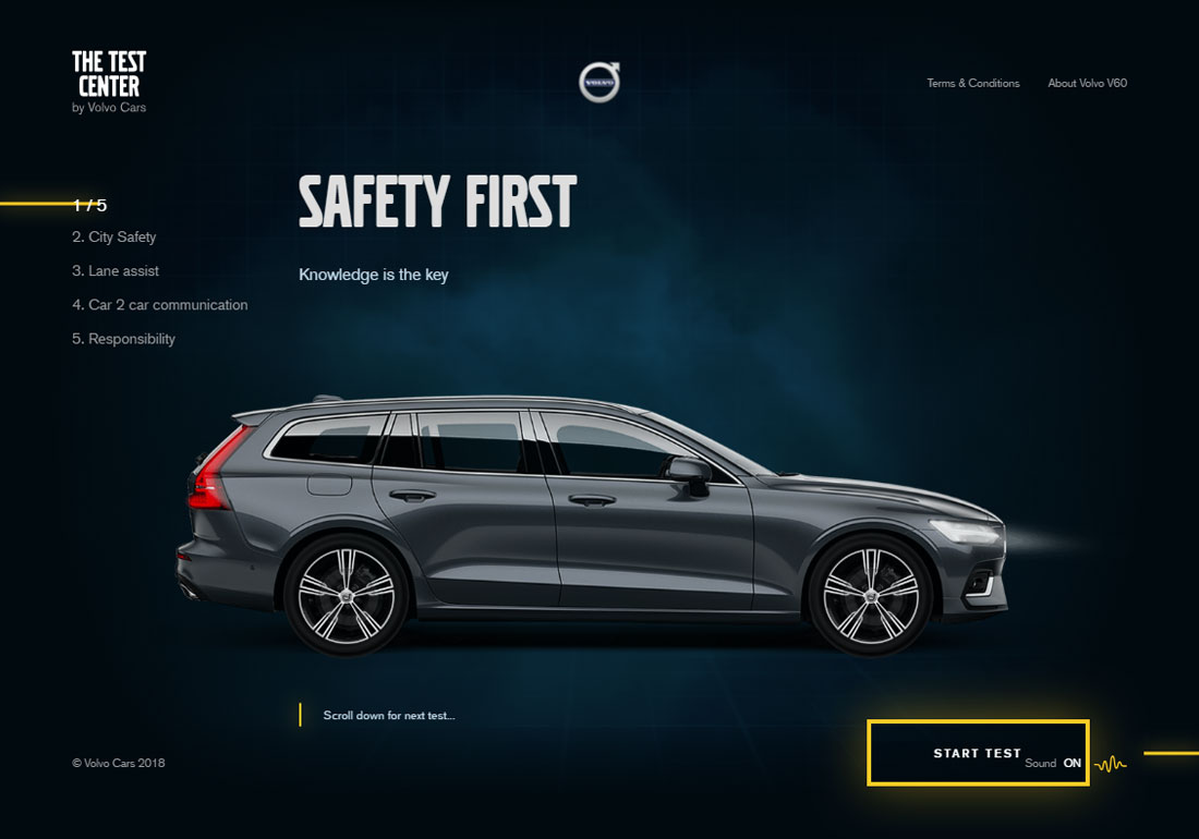 The Test Center by Volvo Cars