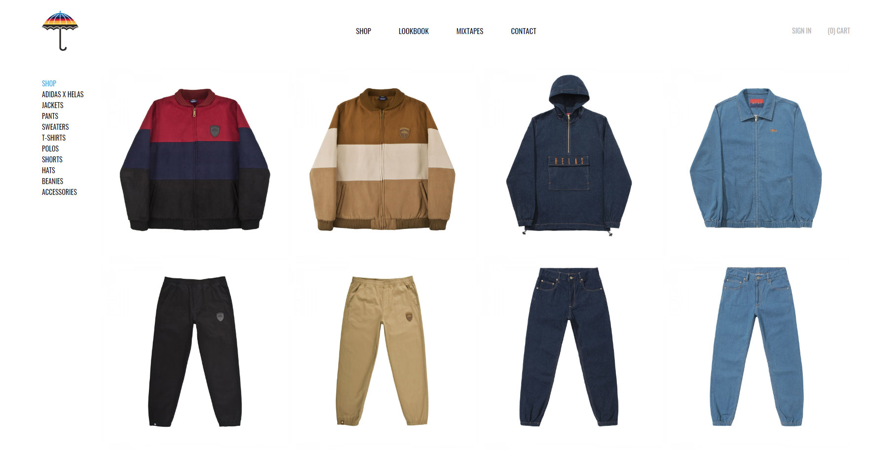 Hélas Limited - Website of the Day