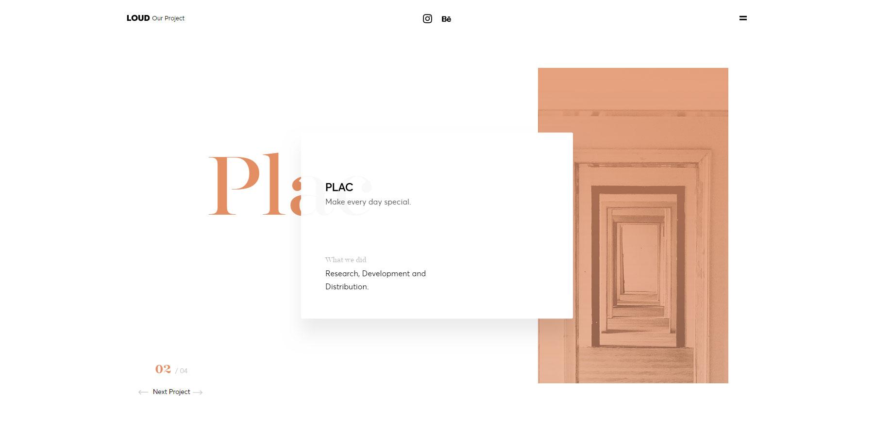 LOUD - Digital Studio - Website of the Day