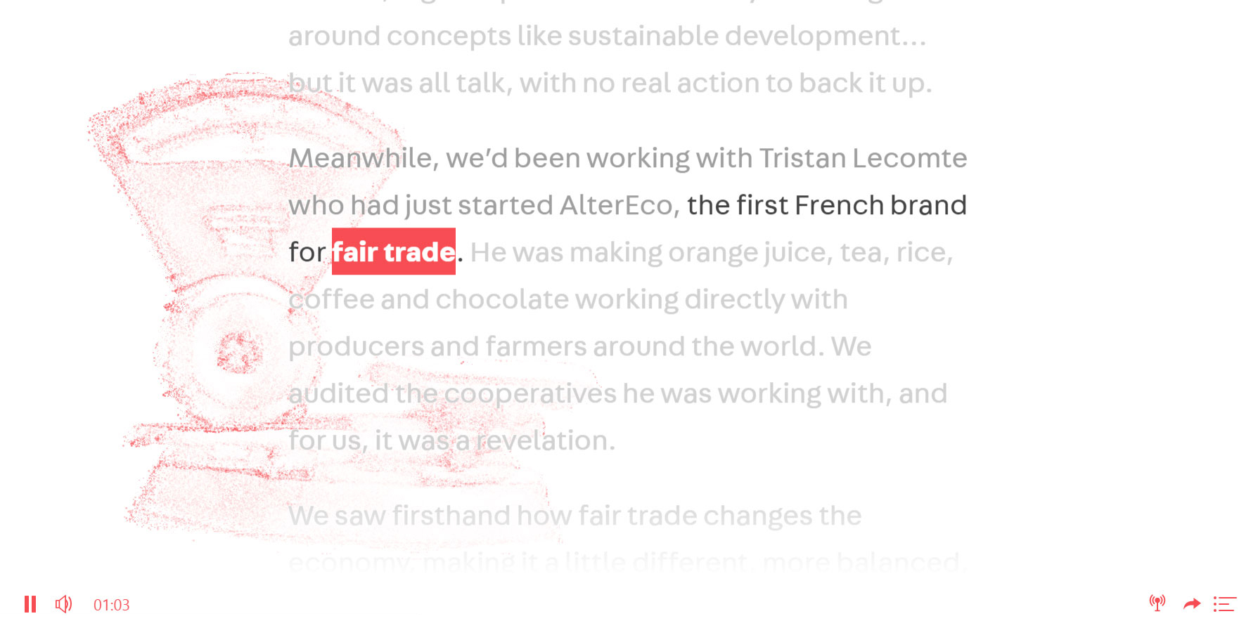 VEJA Project - Website of the Day