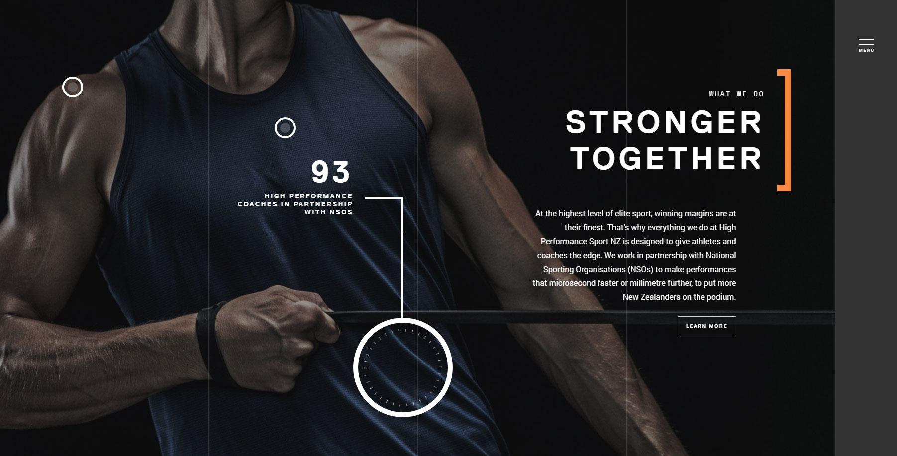 High Performance Sport NZ - Website of the Day