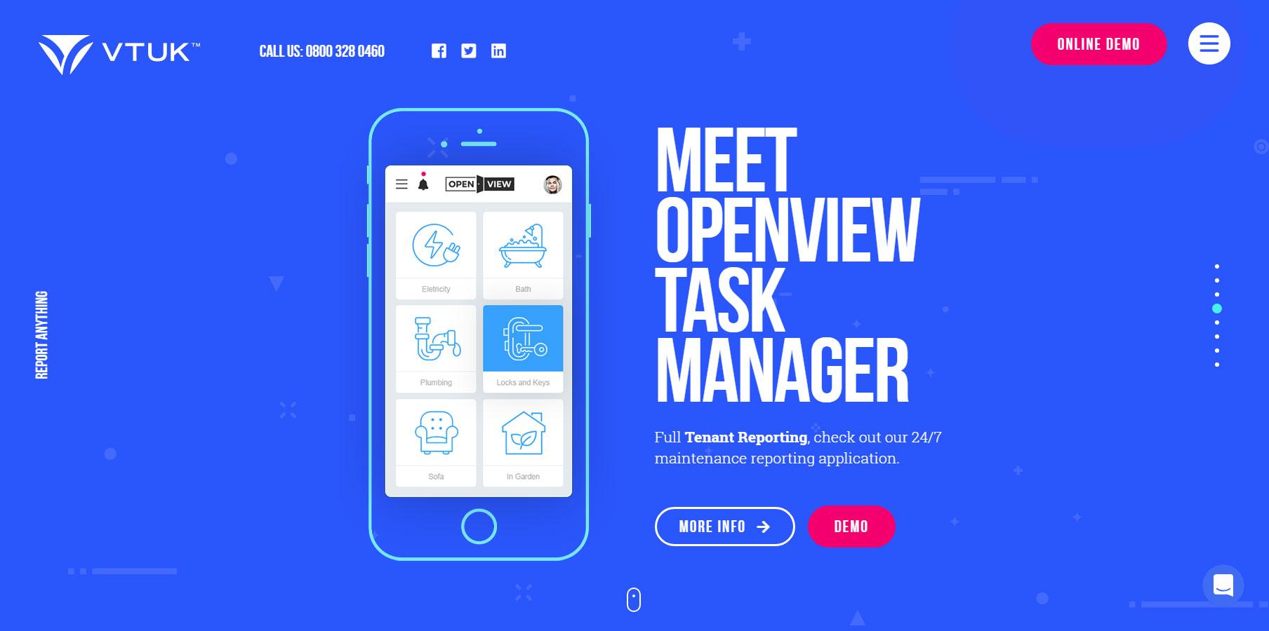 VTUK - Website of the Day