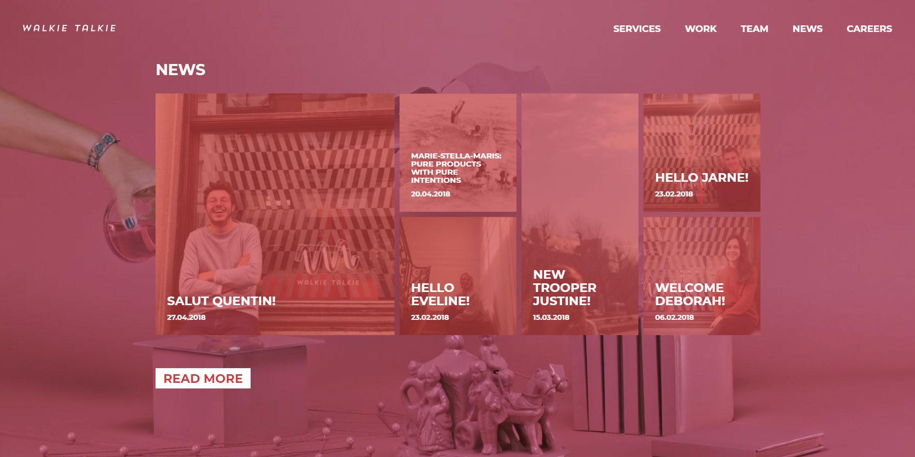 Walkie Talkie - Website of the Day