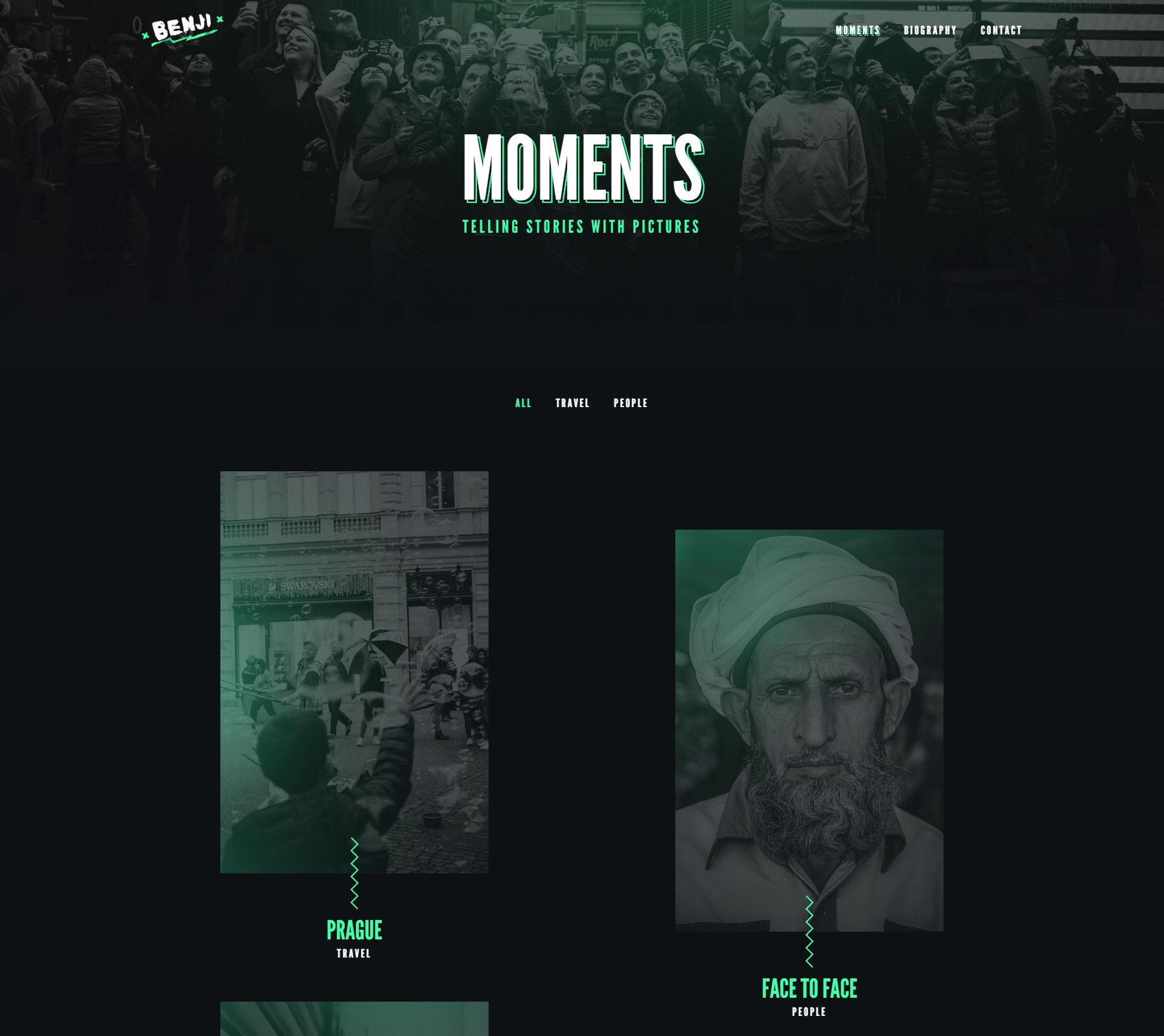 Benji Messmer   Photographer - Website of the Day