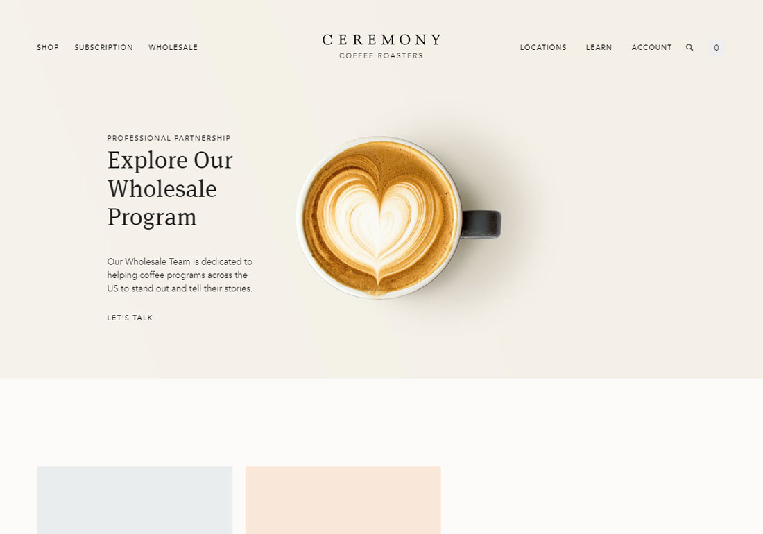 Ceremony Coffee Roasters