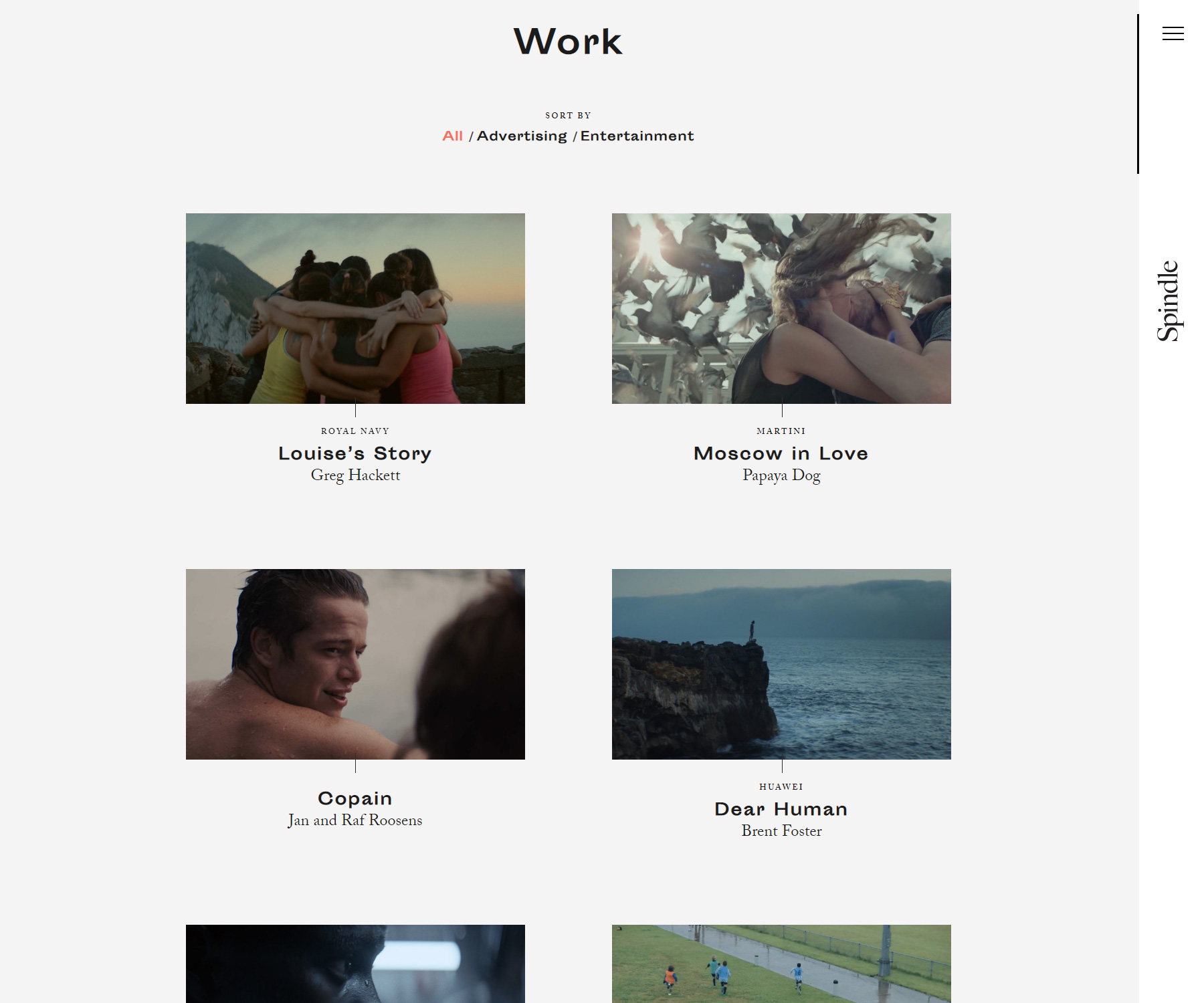 Spindle - Website of the Day