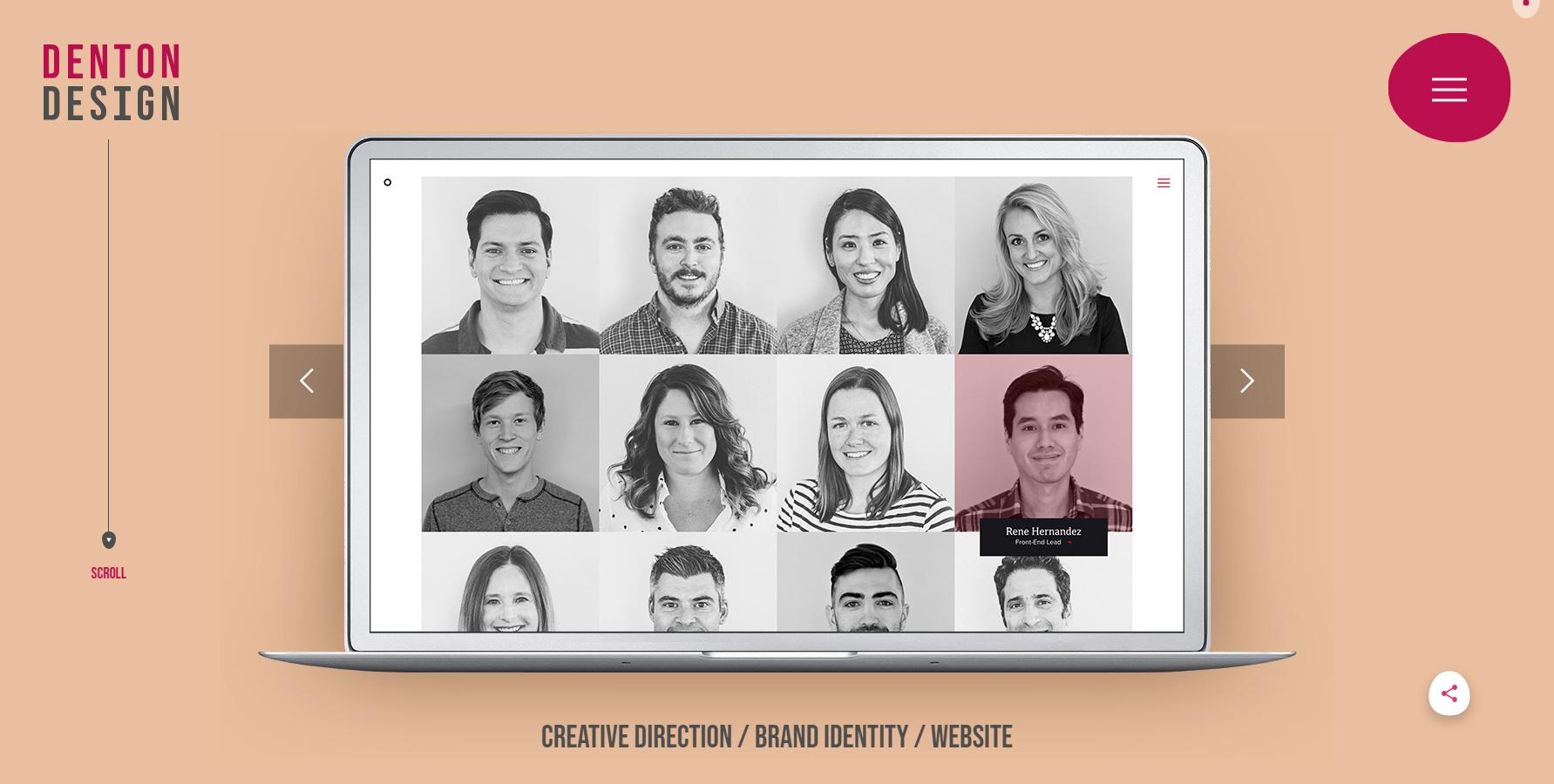 Denton Design - Website of the Day