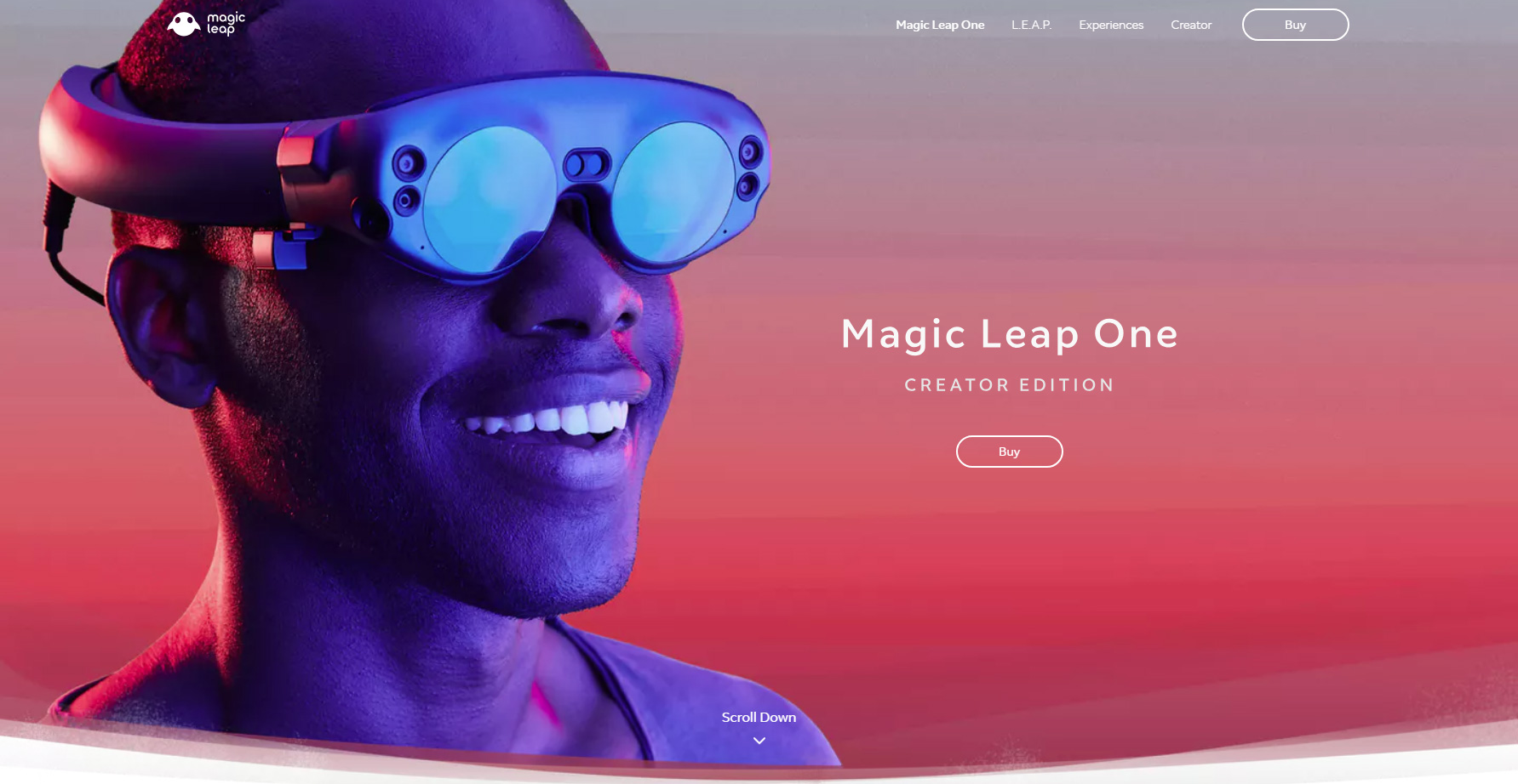 Magic Leap - Website of the Month
