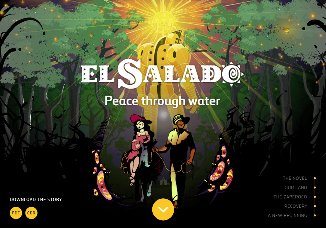 El Salado: Peace through water