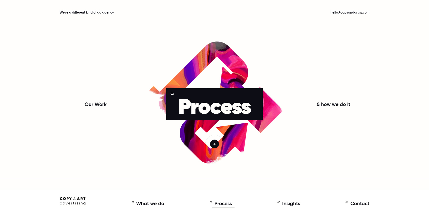 Copy & Art - Website of the Day