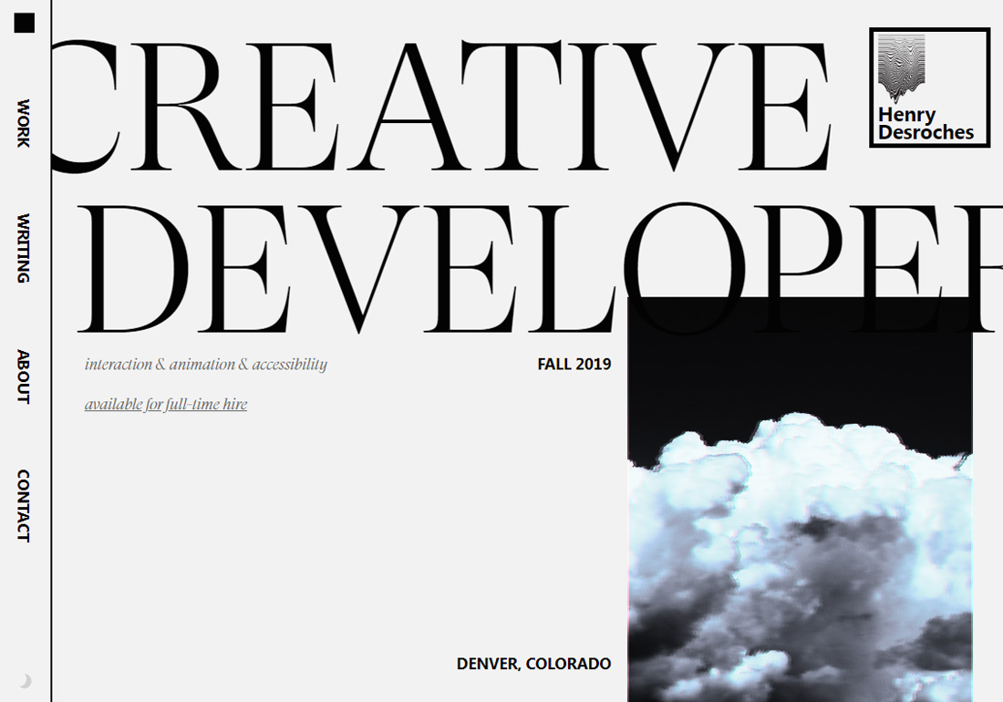 Creative Developer Portfolio
