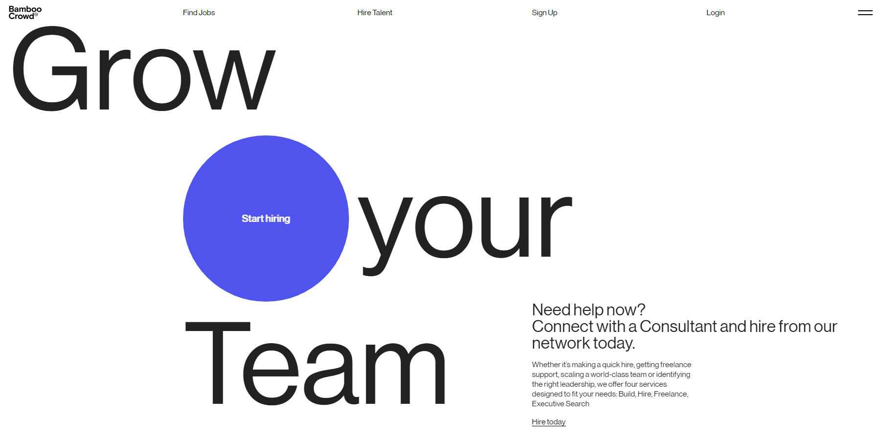 Bamboo Crowd - Website of the Day