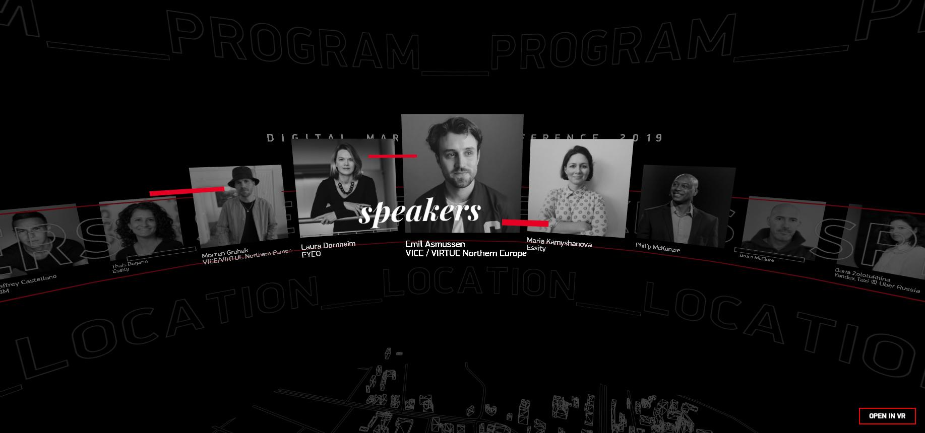Digital Marketing Conference - CSS Winner
