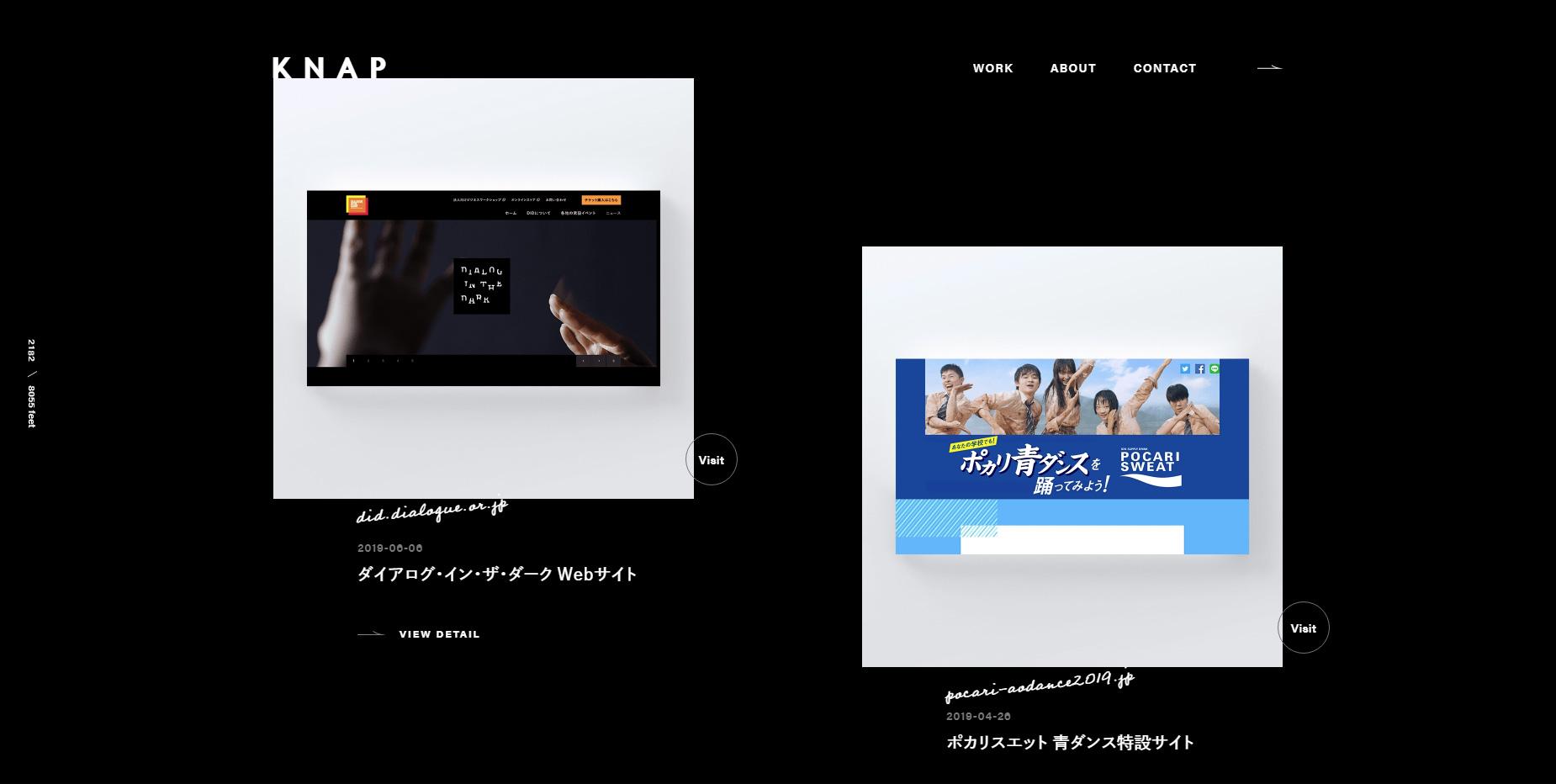KNAP inc. Design Agency - Website of the Day