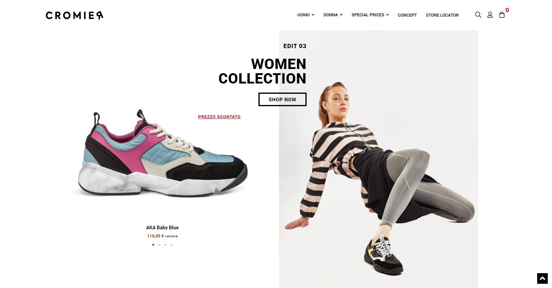 Cromier Italian Sneakers - Website of the Day