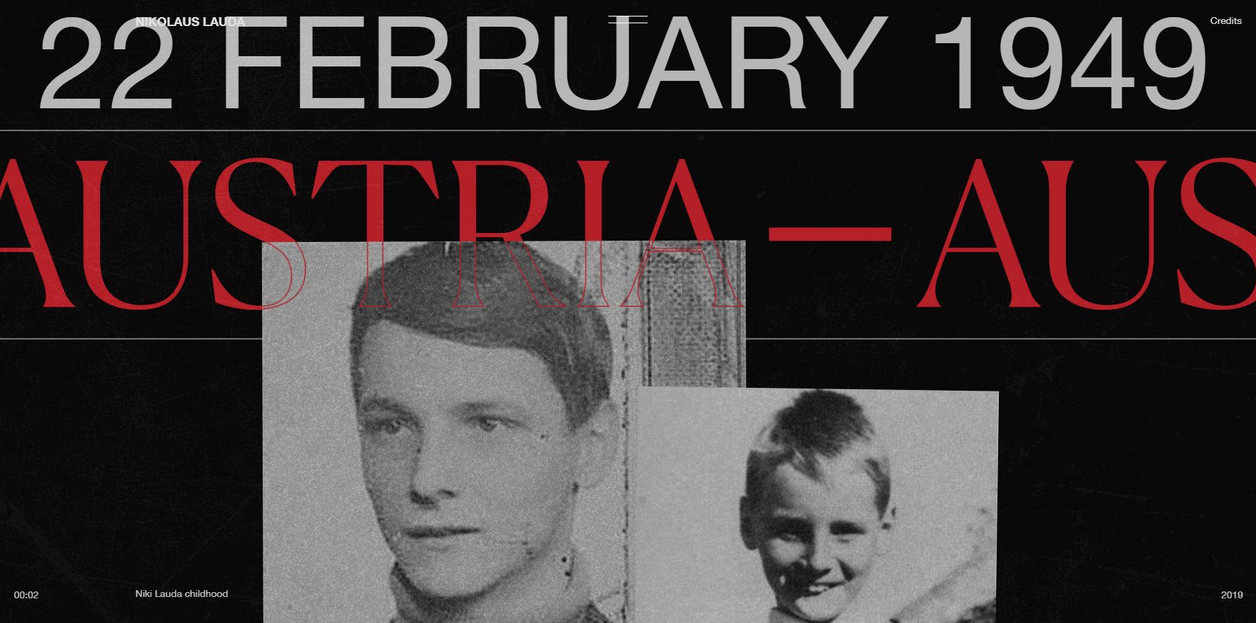 Niki Lauda - Website of the Day