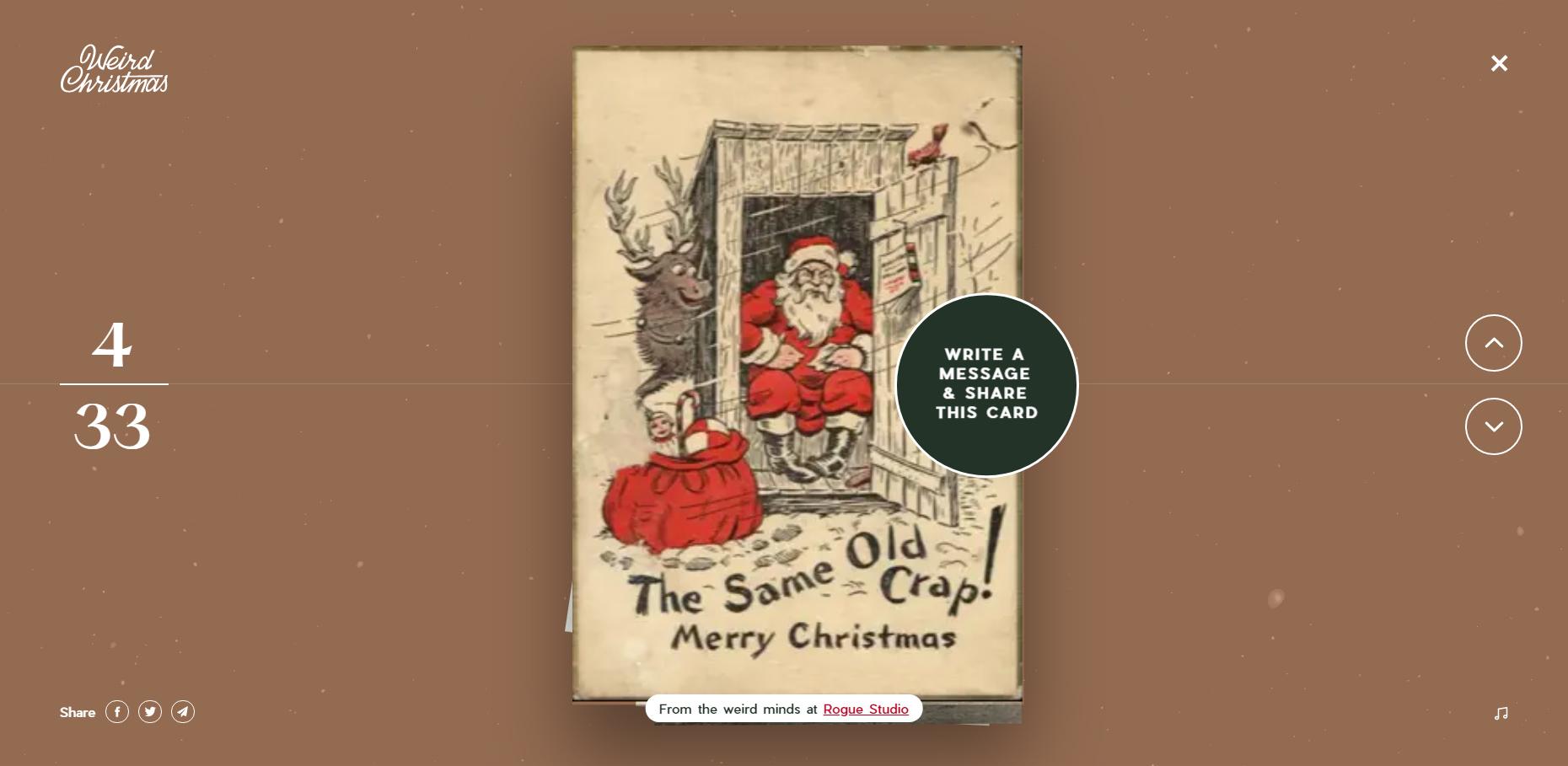 Weird Christmas - Website of the Day