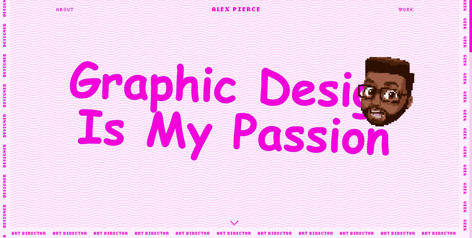The Geek Designer - Website of the Month