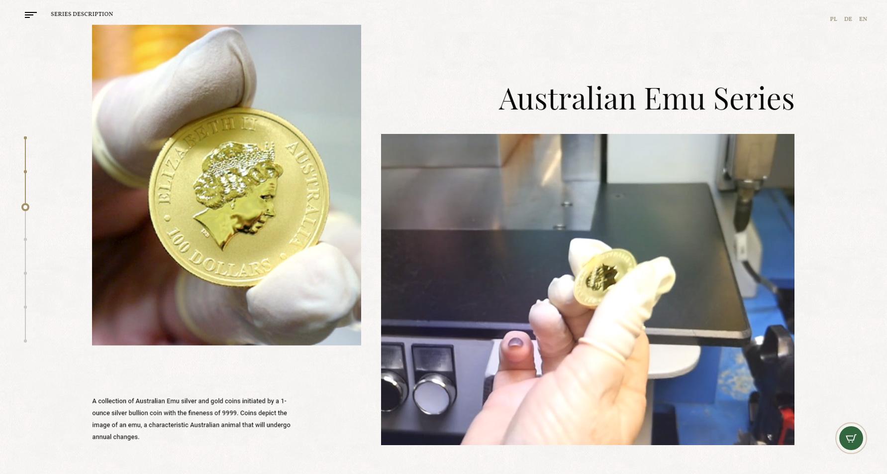Australian Emu - Bullion coin - Website of the Day