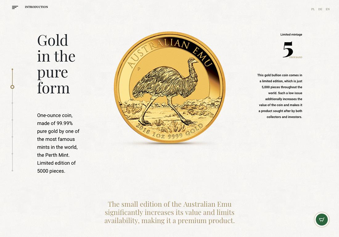 Australian Emu - Bullion coin