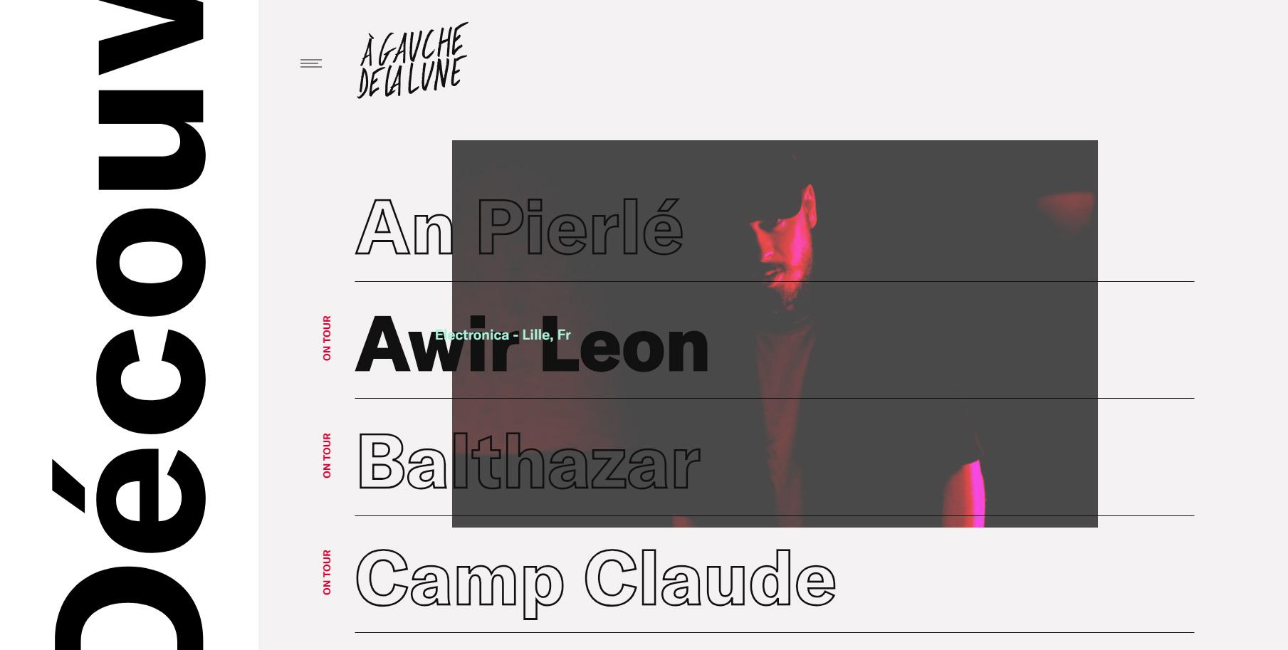 A Gauche de la Lune - Website of the Day