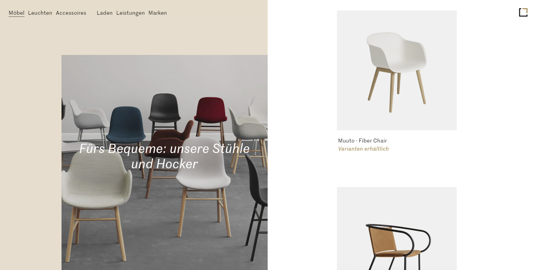Goldkant Interior - Website of the Day