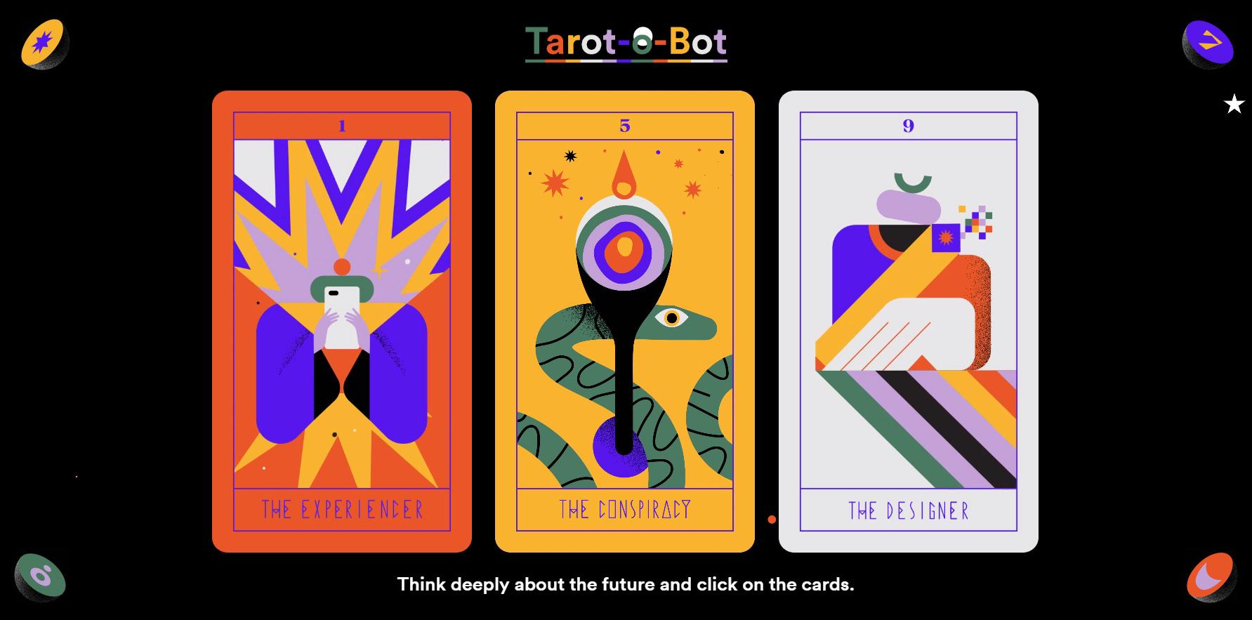 Tarot-o-bot - Website of the Day