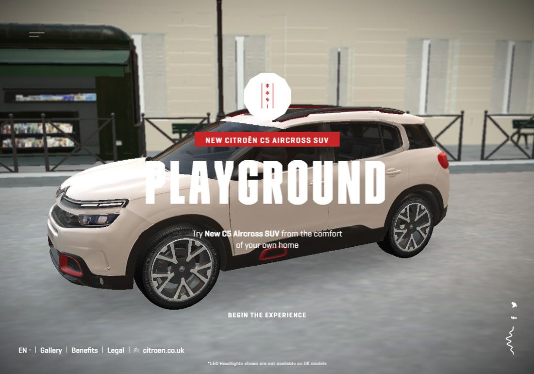 Citroën C5 Aircross Playground