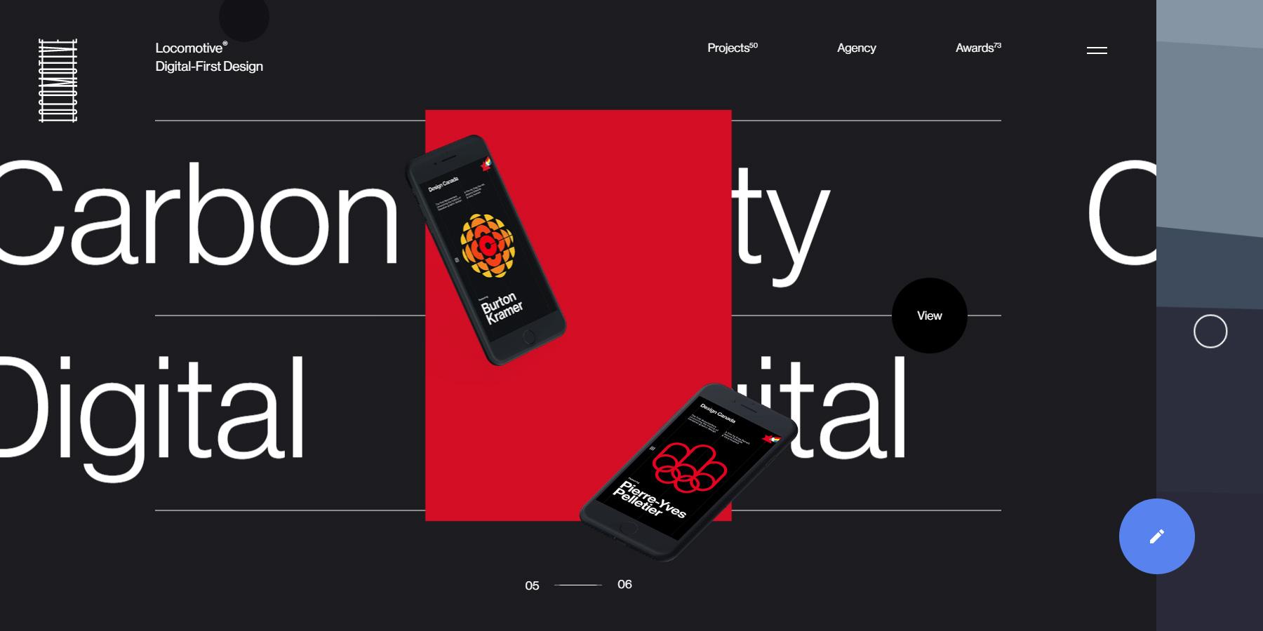 Locomotive - Website of the Month