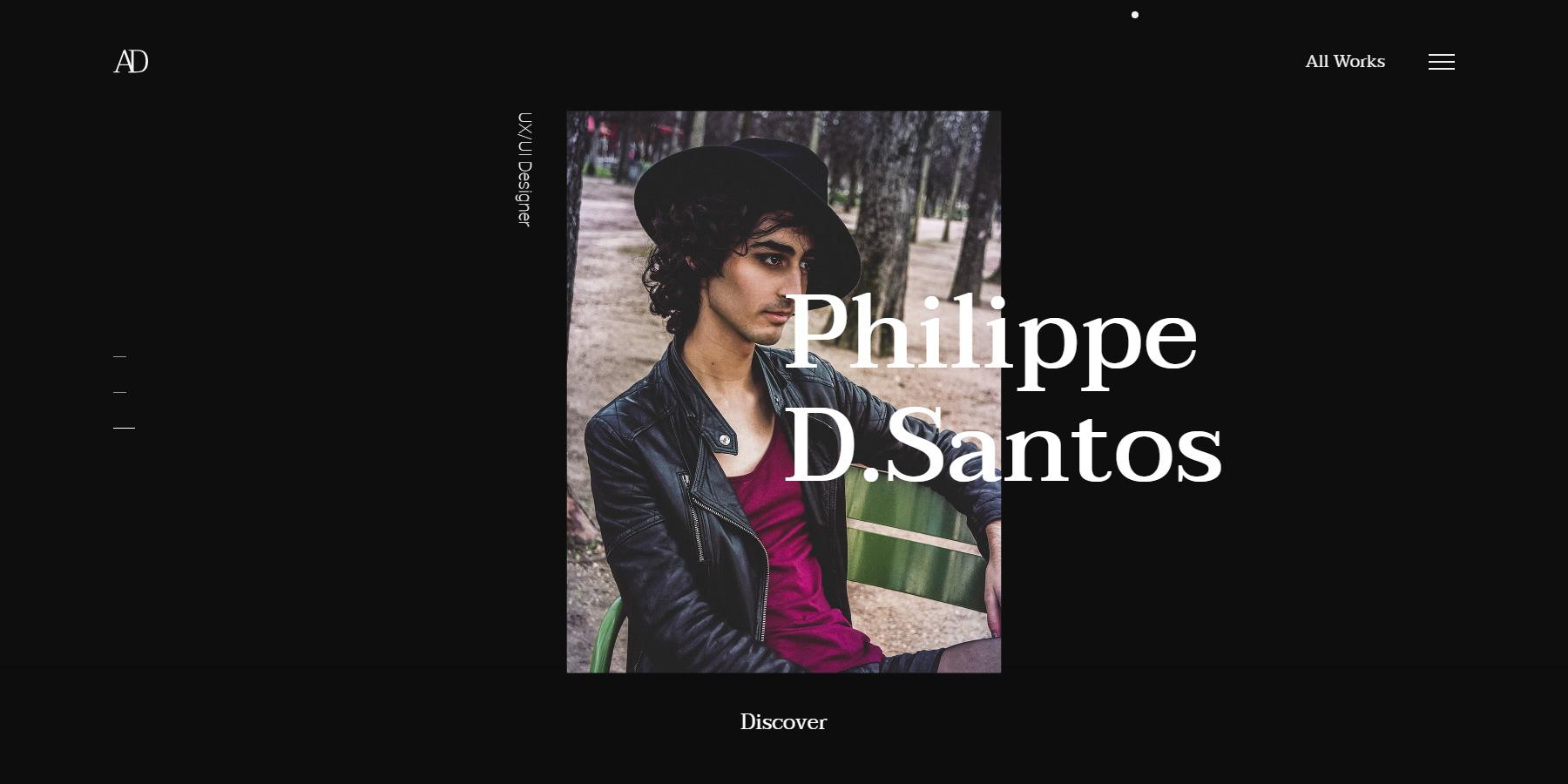 Alban Delachaume - Portfolio - Website of the Day