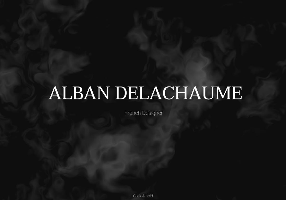 Alban Delachaume - Portfolio