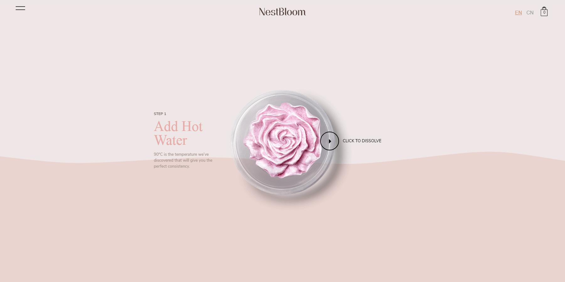 NestBloom - Website of the Day