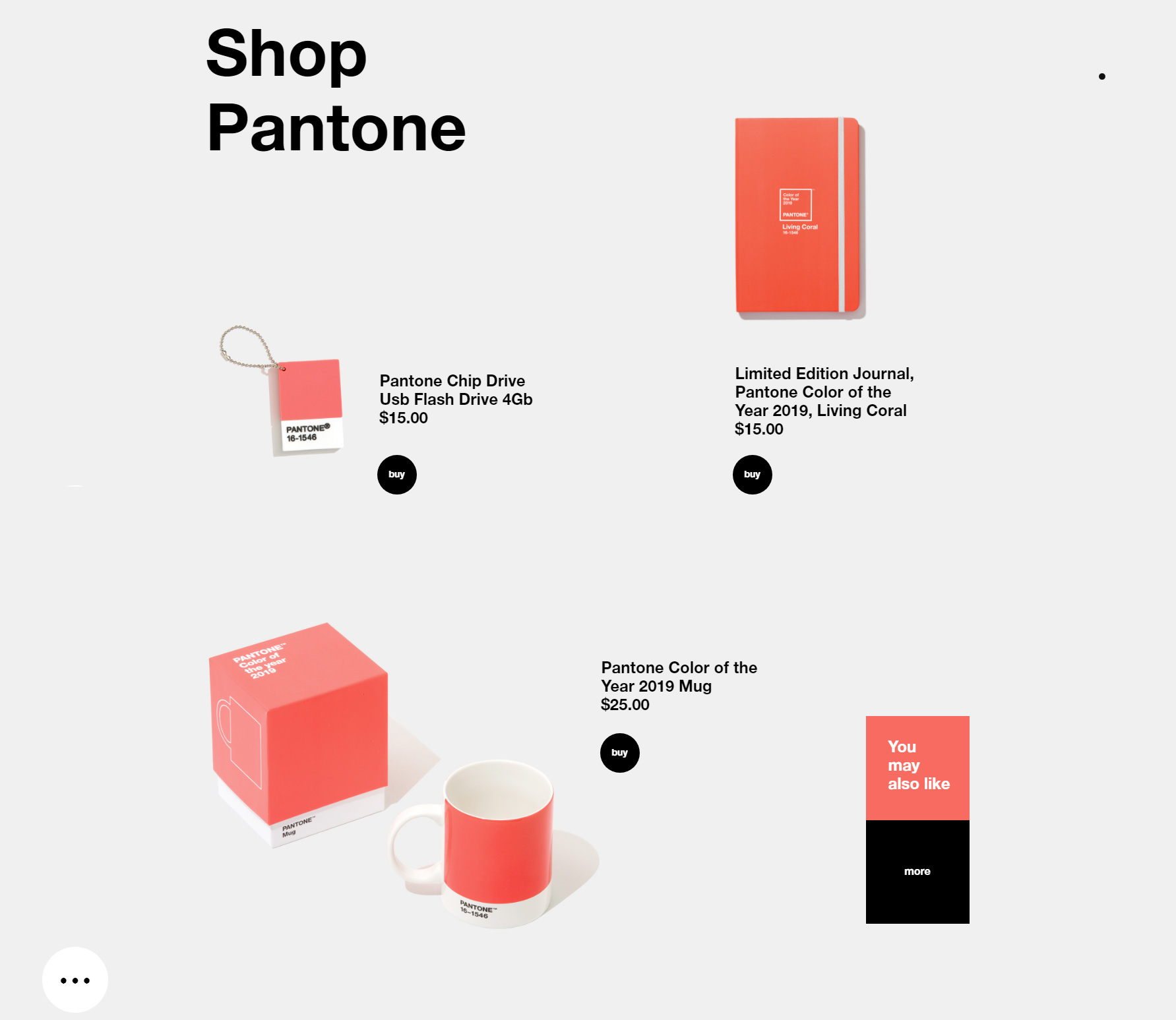 Pantone Color of the Year 2019 - Website of the Day