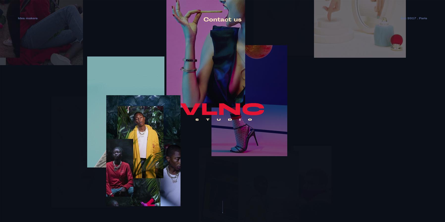 VLNC Studio - Website of the Day