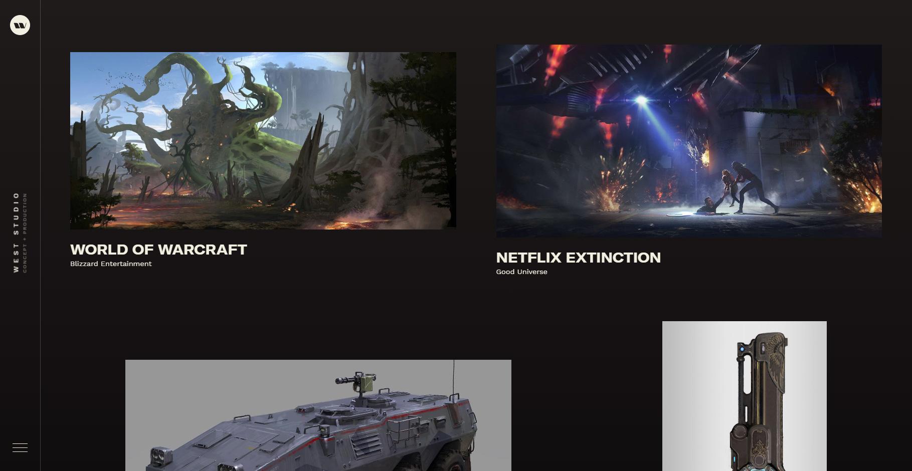 West Studio - Website of the Day