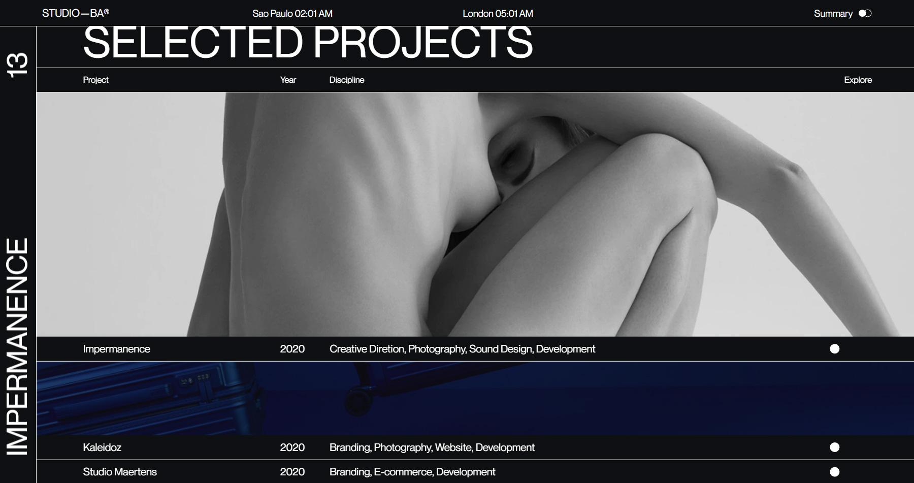 Studio—BA® - Website of the Day