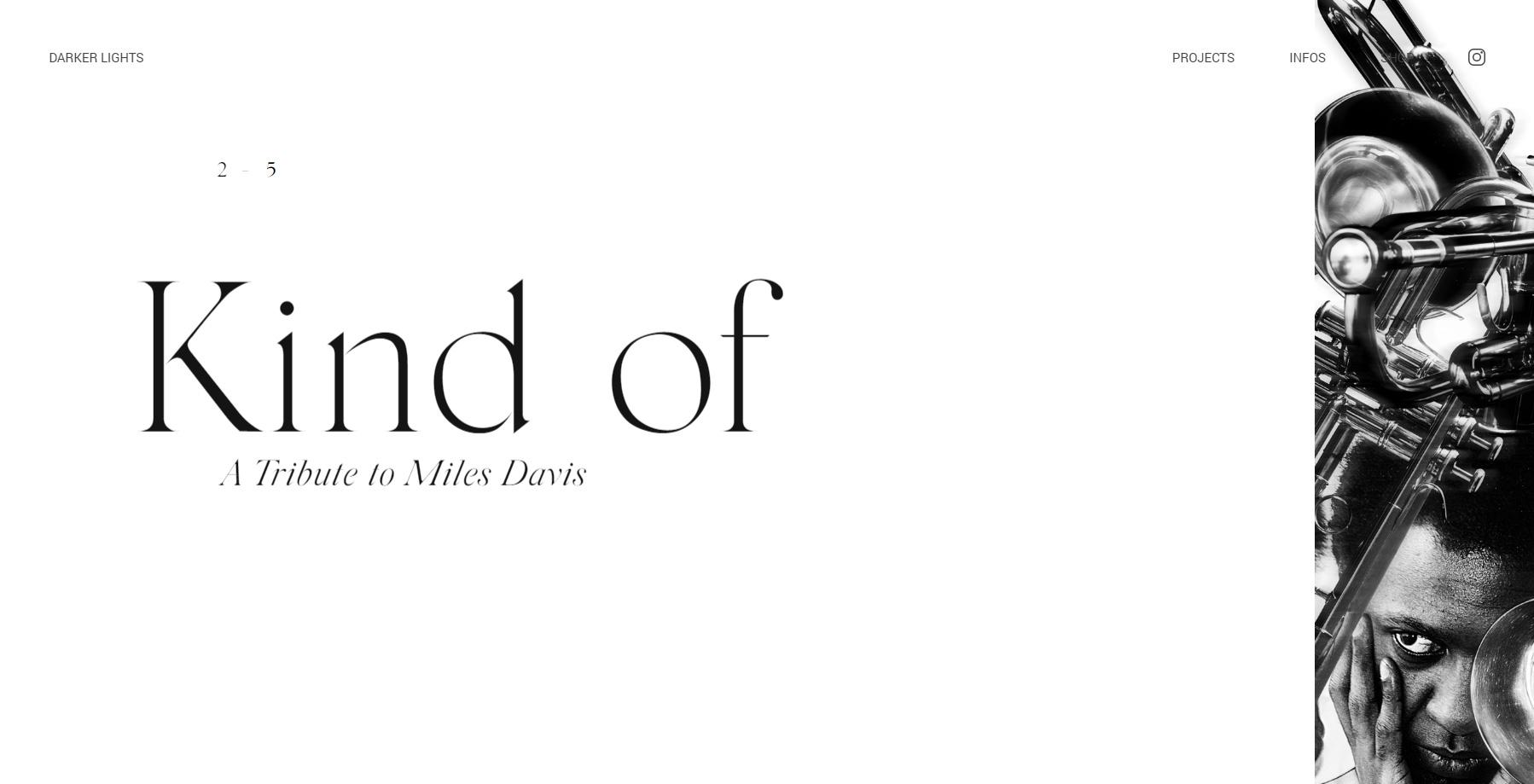 Darker Lights - Website of the Day