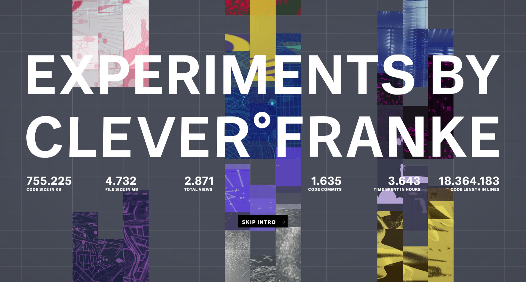 C°F Experiments - Website of the Day