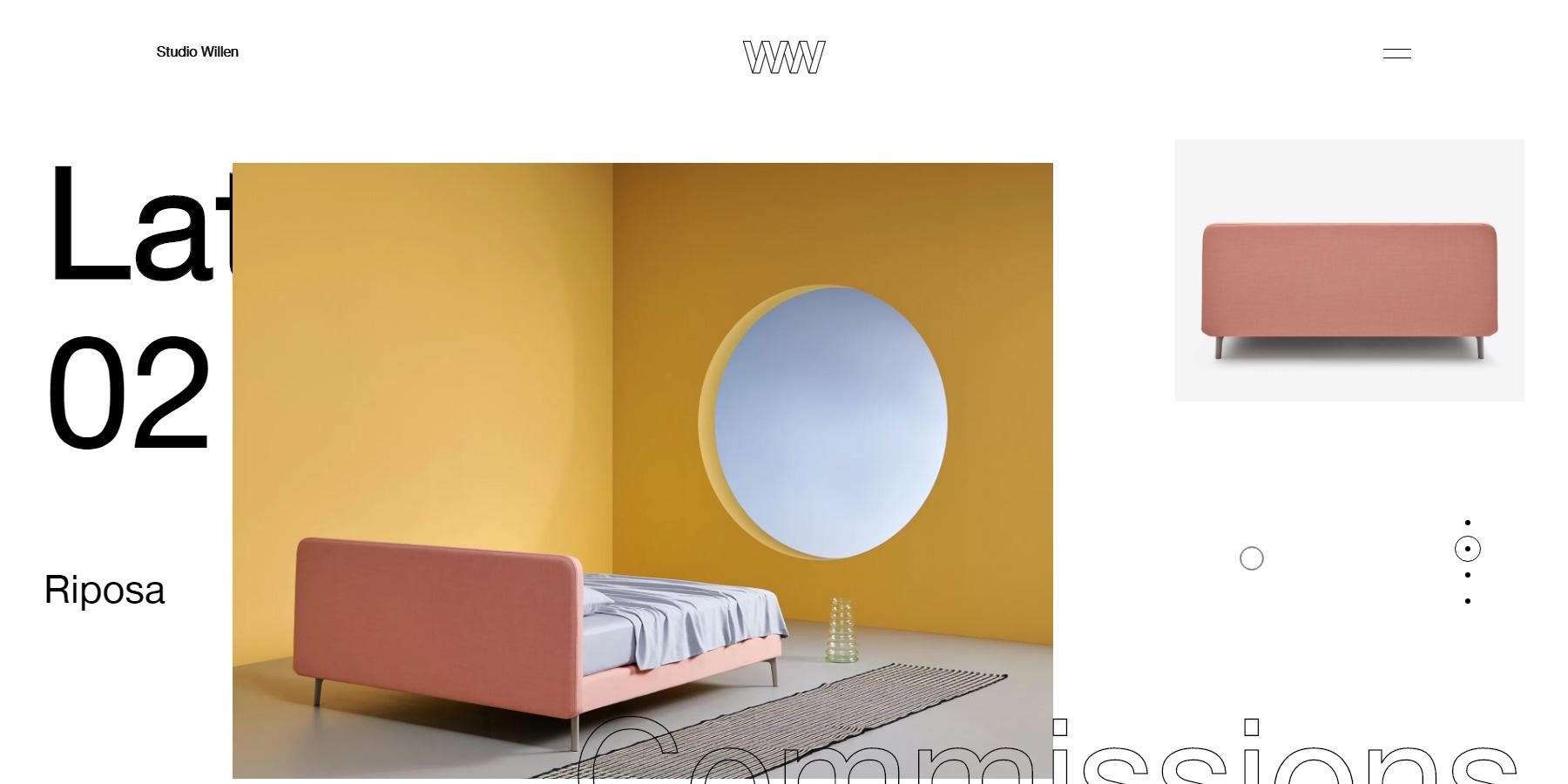 Studio Willen - Website of the Day