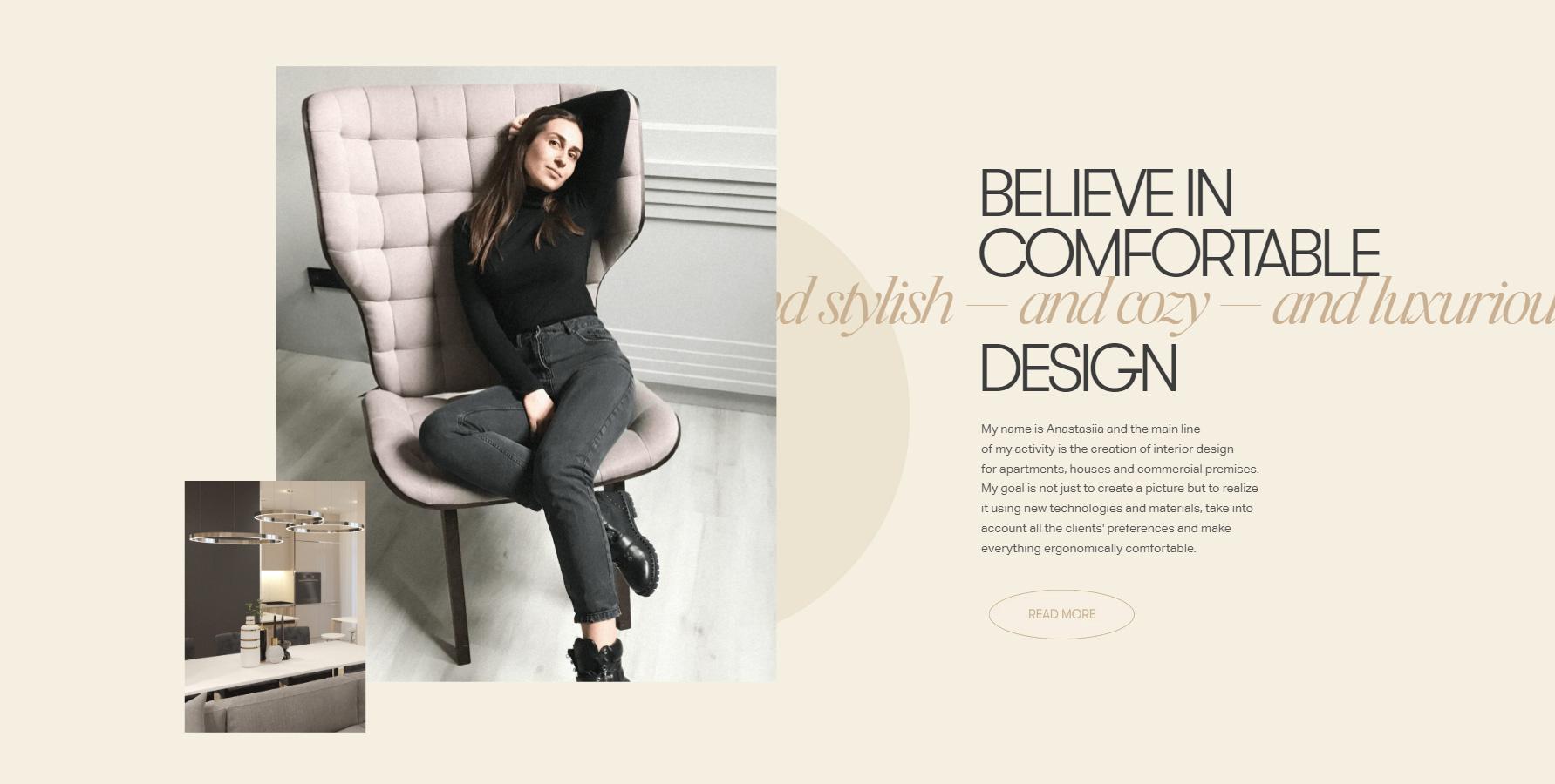 Anastasiia Afanasieva - Website of the Day