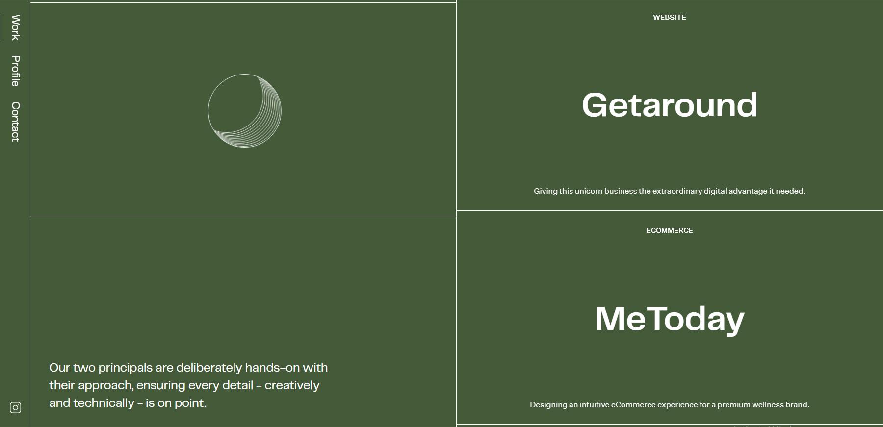 Studio Almond - Website of the Day