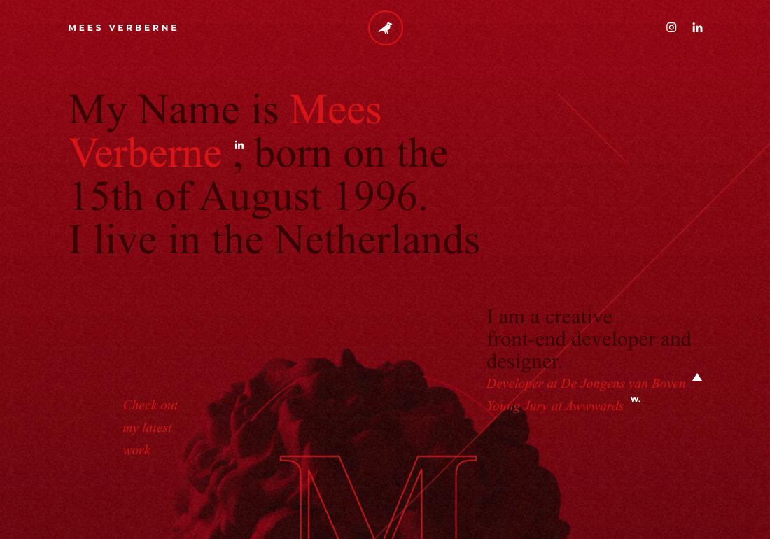 Mees Verberne - Creative developer