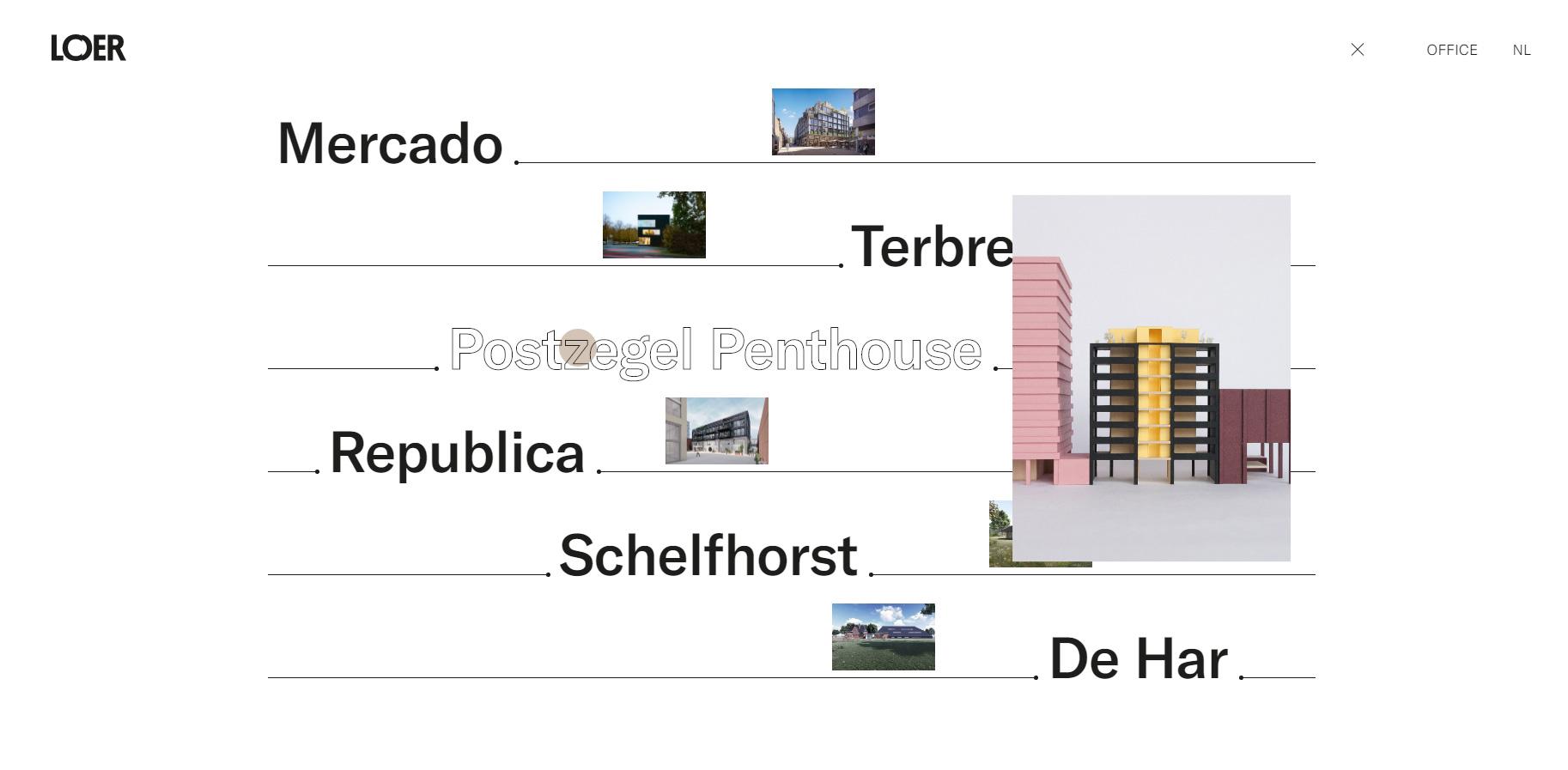 Loer Architecten - Website of the Day