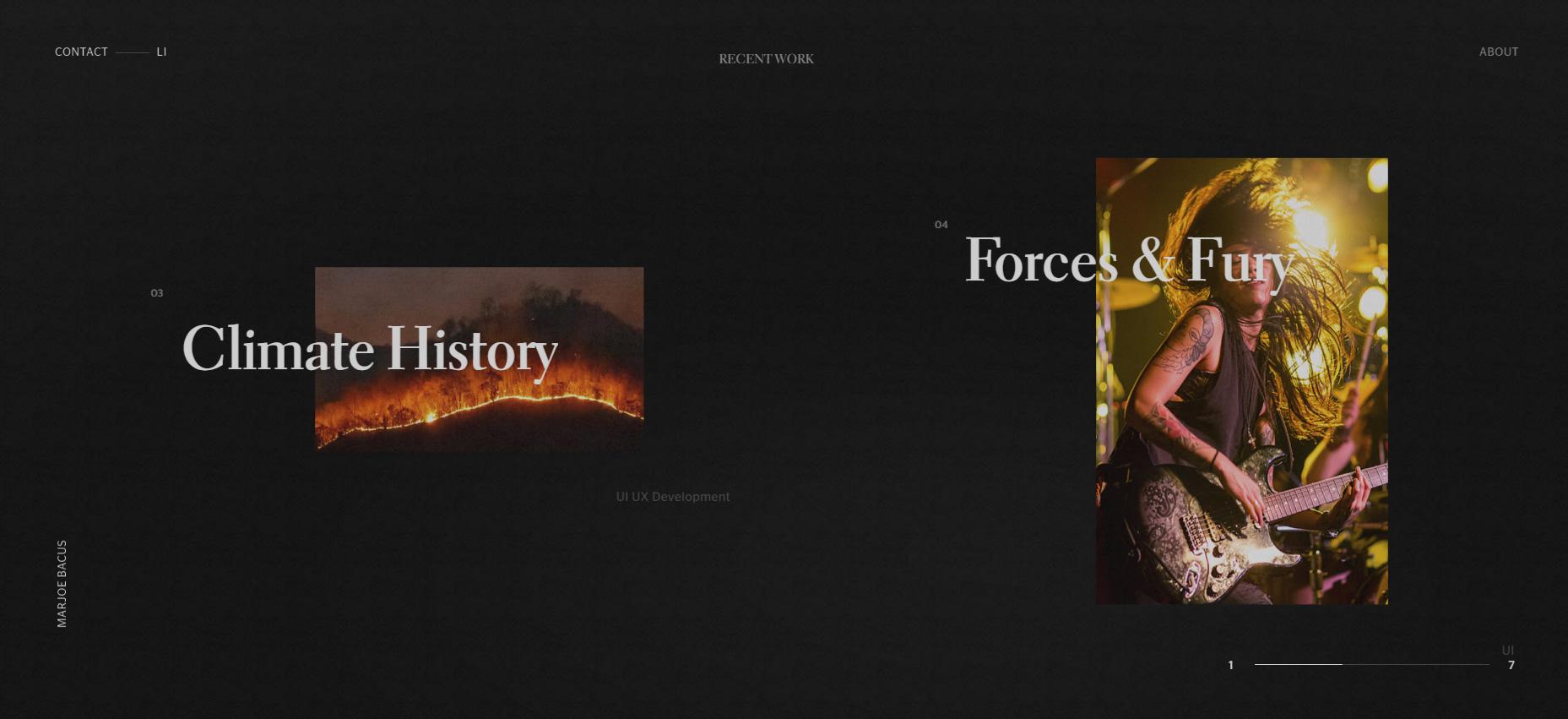 Marjoe Bacus 2020 Portfolio - Website of the Day