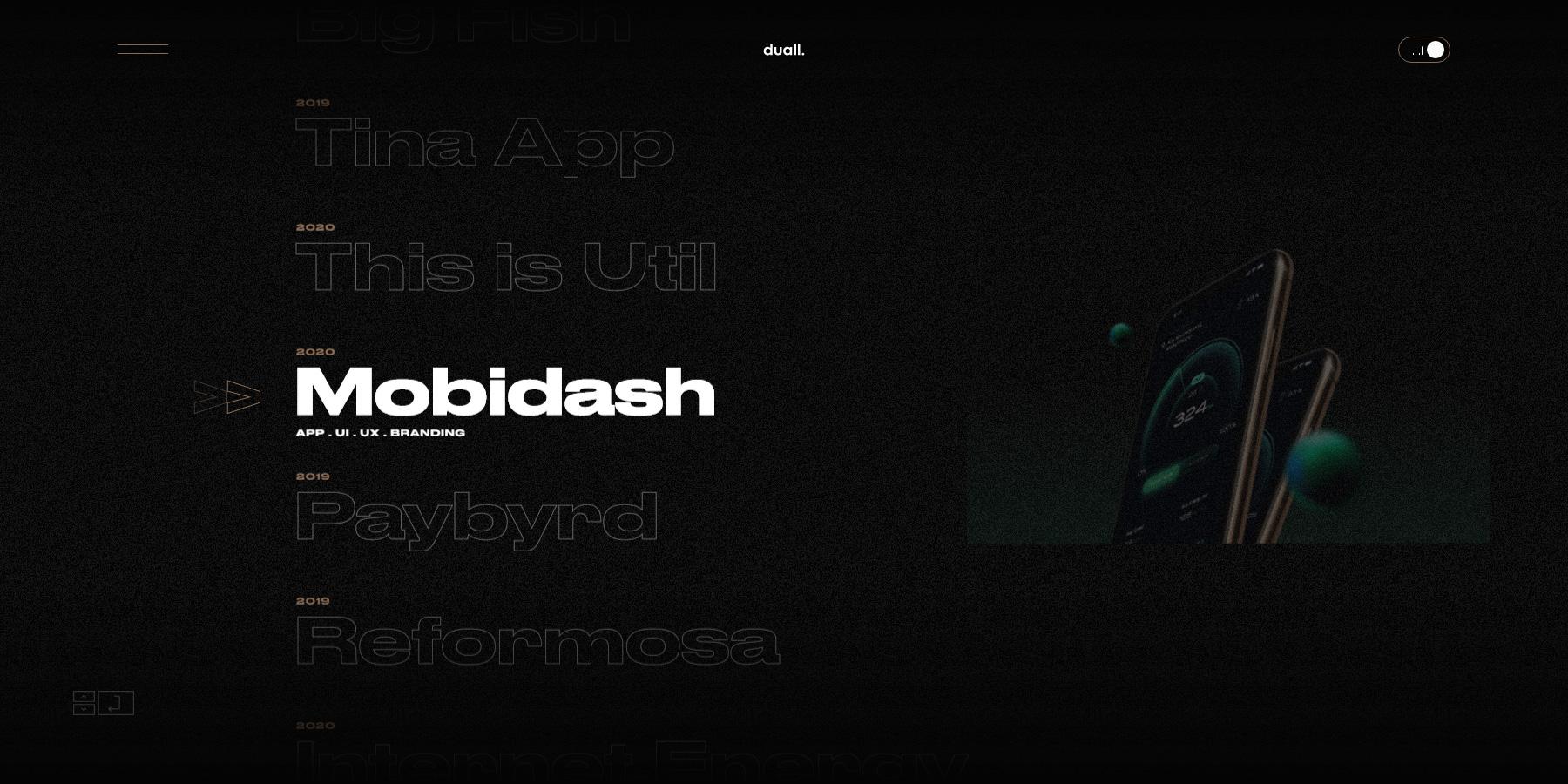 DuallStudio - Website of the Day