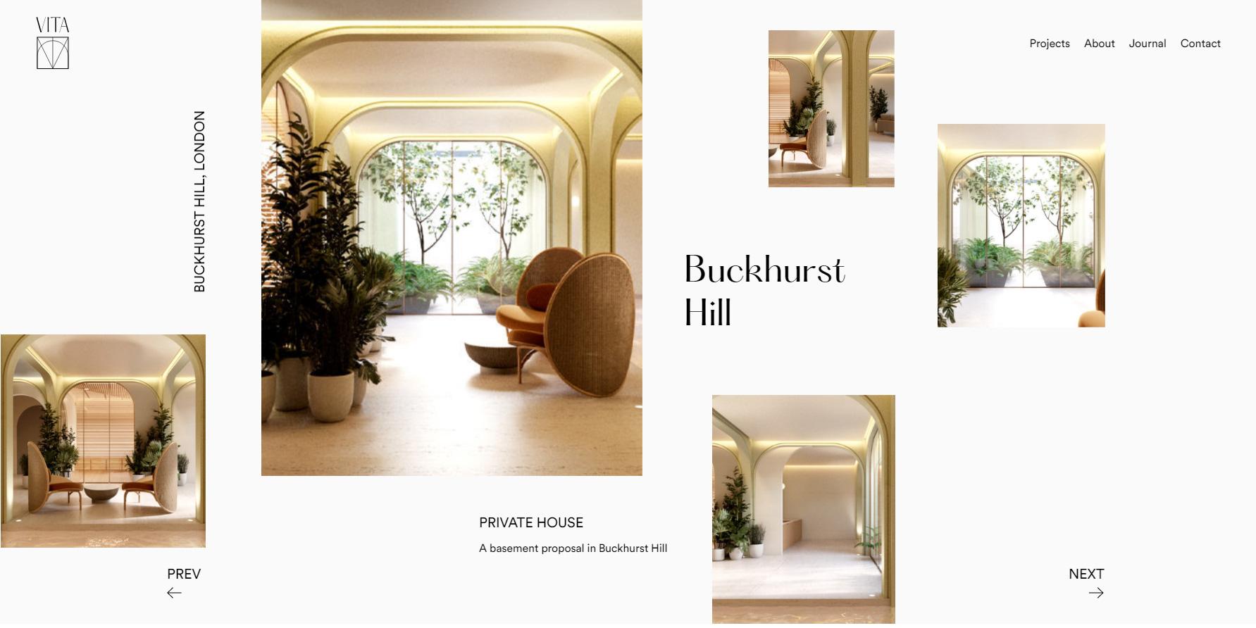 Vita Architecture - Website of the Day