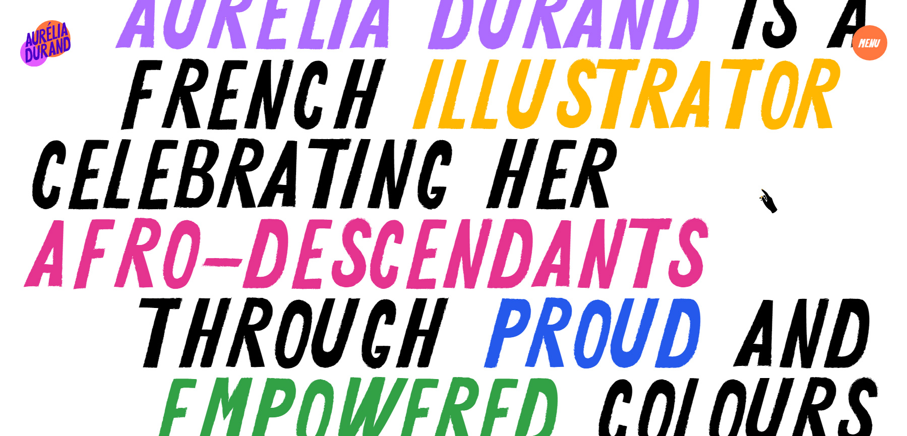 Aurélia Durand - Website of the Day