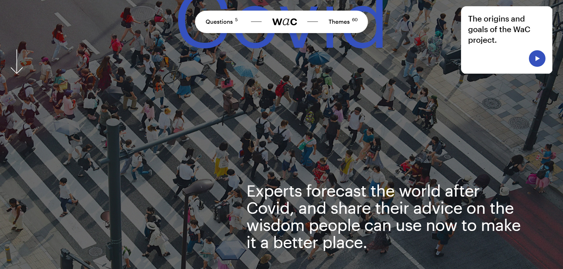 World After Covid - Website of the Day